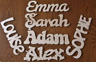 Personalised Wall Door Wooden Name Plaque Home Decoration Novelty Word Sign