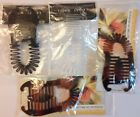 Clinching Banana Hair Clip Clincher Claw Holder Combs With Spring