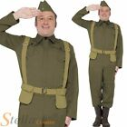 Men's Home Guard Private Dads Army War Fancy Dress Costume WW2 30s 40s Soldier