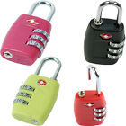 TSA Resettable 3 Digit Dial Combination Safe Travel Luggage Suitcase Code Lock