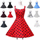 11 Style STOCK Vintage Rockabilly Party Swing Pinup Prom Party Evening TEA Dress