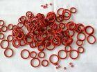 100pcs VMQ CS1.5MM Silicone  Rubber O Ring Oil Resistant O Sealing Ring