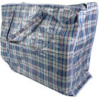 Top Quality Strong Reusable Large Jumbo Shopping Laundry Storage Luggage Bag Zip