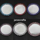 30pcs 25mm Rhinestone Cameo Cabochon Setting Base Tray Button Flatback Wedding