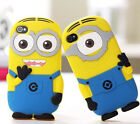 Despicable Me Minion 3D Soft Silicone Cartoon Case Defender Cover For iPhone 5 s