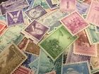 40 MNH All Different 3 cent stamps from the 30's to 50's--SINGLES