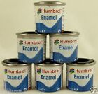 Humbrol 14ml Enamel Gloss Paint Choose Colour for Model Making, Airfix Hornby