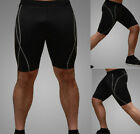 New Mens Compression Under Base Layer Shorts Pants Tight Sports Gear 4 Colors