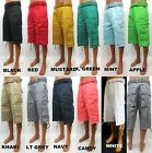 Men's ACCESS colors black red white green khaki cargo shorts belt style AS11001