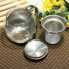 Glass Stainless Steel Loose Tea Leaf Teapot With Infuser 750ml/500ml
