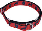 Country Brook Design™ Schipperke Designer Ribbon Martingale Dog Collar