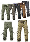 UK NEW Mens Military Army Fishing Hunting Work Camo Cargo Combat Pants Trousers
