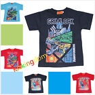 BNWT Spiderman Transformers Grimlock Summer Top Tee T-shirt size 3,4,5,6,7