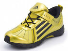 Adidas Q21931 a-Faito 2 turf Kids Running Trainers Shoe Gold/Black (B-Grade)