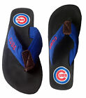 Chicago Cubs MLB Contour Men Flip Flops Slippers Sandals Shoes Blue