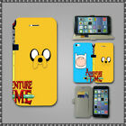 ADVENTURE TIME JAKE FINN Slim Wallet Cover case for Iphone 4 s 5 s 5c Touch 5