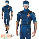 Cyclops Mens X-Men Fancy Dress Marvel Comics Superhero Adults Costume Outfit New