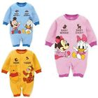 Lovely Infant Baby Boys Girls Rompers Jumpsuit Cartoon Cotton Outfit 3-12 Months