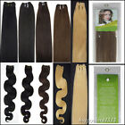 """Super 20"""" Weft 100% Real Remy Human Hair Extensions in Green Packages 100g"""