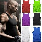 S-XXL Tights Men Athletic Vest  Running Training Fitness Sleeveless T-shirt Tank