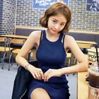 Jolse_imvely Ribbed Halter Bodycon Dress womens dresses korean fashion
