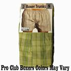 2 New PROCLUB men's underwear Trunk Boxer Shorts PRO CLUB Size 4XL