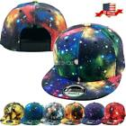 Fashion Galaxy Print Hiphop Cap Snapback Baseball Cap Adjustable Hat Unisex