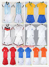 Wholesale 9 countries Kids Boys Jersey World Cup National Team Sets Age 4-14