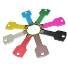 Key New USB 2.0 Metal Flash Memory U Disk Storage Stick Pen Drive 8GB 16G