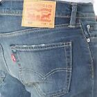 NWT Levis 510 Midnight Super Skinny Blue Jeans low Tapered 29 30 31 32 33 34 36