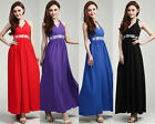 TOPS Summer New Formal Evening/Cocktail/Party/ Ladies Long Maxi Dress Size 8-18