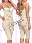 Knee-length Body Shaper,Size reducer Butt Lifter Fajas Moldeate Capri 1002 Nude