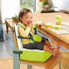 Portability High Chair Booster Seat Cushion 4Level Carry Restaurant Kids Toddler