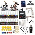 Complete Tattoo Kit 2 Machine Gun 20 Ink Equipment Needle Power Supply D175GD