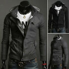 UK STOCK FREE SHIP Mens Warm Tops Hoodies Jackets Casual Coats Slim Fit Outwear