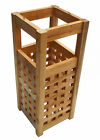 Assembled Traditional Styled Wooden Pine Walking Stick Umbrella Stand 50x20x20cm