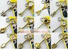 Fairy Tail Lucy Heartfilia Key Pendant Necklace Cosplay Metal Magic Keychain