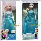 "DISNEY FROZEN ELSA AND ANNA DOLL FIGURES FIGURINE 12"" TOY"