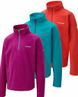Craghoppers Iskara Girls HALF-ZIP Microfleece Jacket Top Jumper 5 - 13yrs CKA140