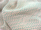 chiffon fabric green weave printed chiffon fabric summer beach wrap dress fabric