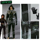 Green Arrow Oliver Queen Halloween Cosplay Costume Outfit Suit Uniform Full Set