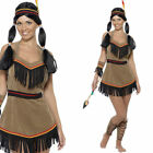 Ladies Native American Indian Lady Squaw Fancy Dress Costume