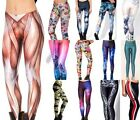 Naughty Sexy 3D Graphic Printed Women Leggings Yoga Party Club DH BX02