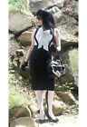 Plus Size suspender high waisted wiggle skirt & belt more colours sizes 18 to 28