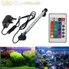 Aquarium Fish Tank Waterproof Light White Blue RGB 28 37 48 57CM LED Submersible
