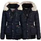 khujo Damen Winter Stepp Jacke STRIG Wintermantel Winterjacke Parka Steppjacke