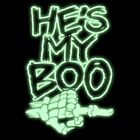 He's My Boo Funny Halloween T-Shirt or Tank Top All Sizes