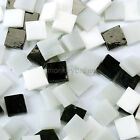 65+ PCS 10mm Stained Glass Mosaic 9 Color Series Multicolour Crystal Translucent