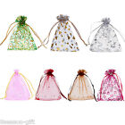 25PCs 10cmx12cm Organza Gift Bags Pouches Wedding/Christmas Gift Favor M3358