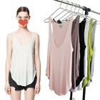 1x New Fashion Casual Loose Deep V Neck Shirt Blouse Tank Tops Vest 5 Colours